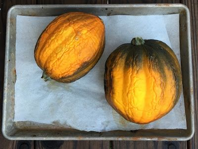 Avanti Cafe Musings: Winter Squash Easy Cooking HACK