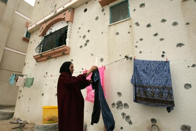 Take A Look At The Laundry Routines Around The World: Gaza Strip, Palestine