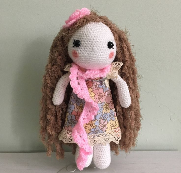 "Anna Marie ""The Handmade Doll"" by AliceRoseHandmade on Etsy https://www.etsy.com/ie/listing/554770043/anna-marie-the-handmade-doll"