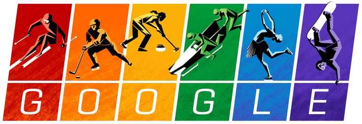 2014 Winter Olympics [Зимние Олимпийские игры] /This doodle was shown: 07.02.2014 /This is global doodle. It was shown for all countries