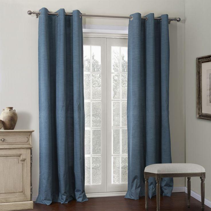 Ink Blue Coating Thermal Curtain  #curtains #homedecor #decor #homeinterior #interior #design #custommade