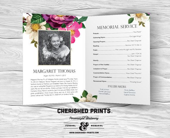 26 best Bespoke Funeral Service Sheets images on Pinterest - funeral ceremony invitation
