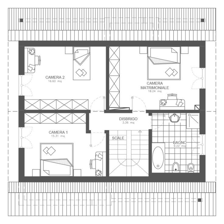 Oltre 25 fantastiche idee su planimetrie di case su for Idee seminterrato a due livelli