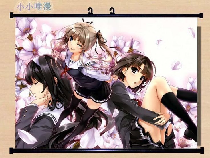 "Saenai Heroine No Sodatekata Home Decor Poster Wall Scroll 23.6""X17.7"" Gb1726"