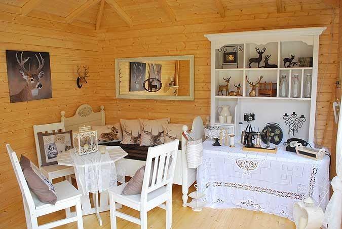 Gartenhaus Originell Einrichten 20 Grossartige Inspirationen Gartenhaus Inneneinrichtung Rustikal Stilvoll Klassisch Mode In 2020 Unique Dining Room Home Decor House