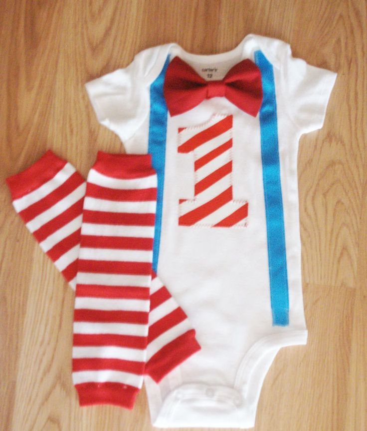 Baby boy  1st birthday outfit  Turquoise and red by kottoncactus, $22.50