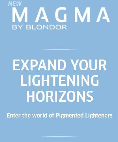 *MAGMA* - Pigmented Lighteners / Lighten + Tone by Blonder of Wella