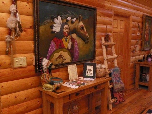 Native American Living Room Decor Zion Star