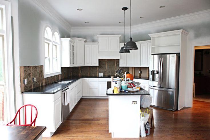 Kitchen paint Benjamin Moore Metropolitan