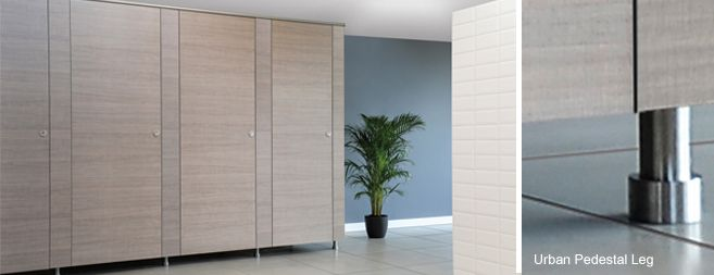 Amwell Systems commercial Urban toilet cubicles