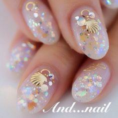 Shiny Summer #nails