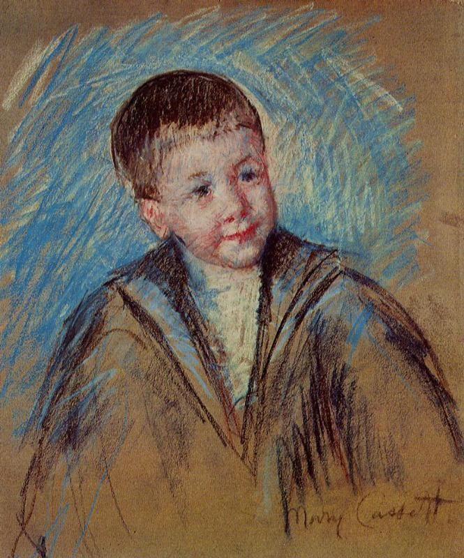 Portrait Of Master St Pierre Study Circa By American Artist