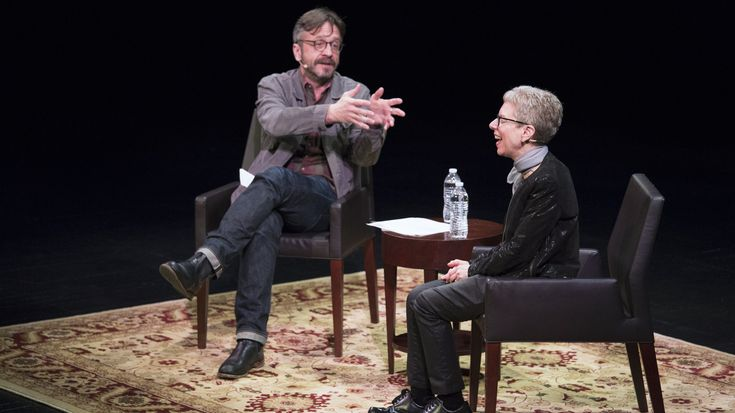 Terry Gross To Marc Maron: 'Life Is Harder Than Radio' : NPR