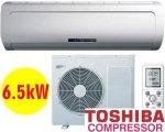 $639 6.5kW Reverse Cycle Air Conditioner (Toshiba Compressor)
