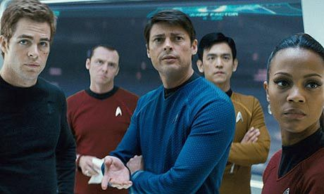 Two of my favourtie things, Star Trek and Karl Urban.