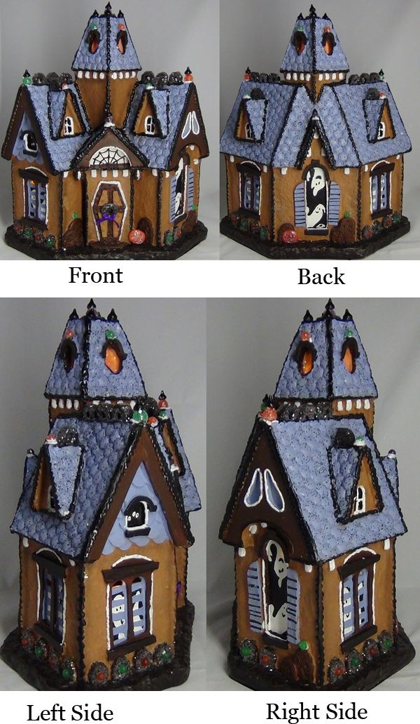 1000 images about haunted house gingerbread on pinterest spooky