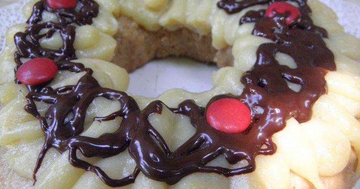 Fabulosa receta para Rosca de Pascua fácil y esponjosa. Una rosca muy sencilla, bien fácil y esponjosa para animárnos a hacerla casera.  https://cookpad.com/ar/recetas/491603-crema-pastelera-para-horno