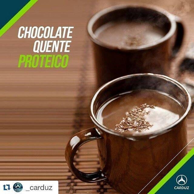 #Repost @_carduz with @repostapp  Misture em fogo brando 1 xicara de chá de leite desnatado 1 colher de sobremesa de cacau 100% em pó 1 colher de sopa de pó para pudim diet de chocolate e mexa até engrossar. Após retirar do fogo acrescente 1/2 scoop de whey protein e 1/2 colher de chá de adoçante. #receita #chocolatequente #proteina #protein #bemestar #carduz #carduzexterior #fit #fitness #foco #nutricao #nutrition #qualidadedevida #saudavel #supportsuplementos #suplementos by…