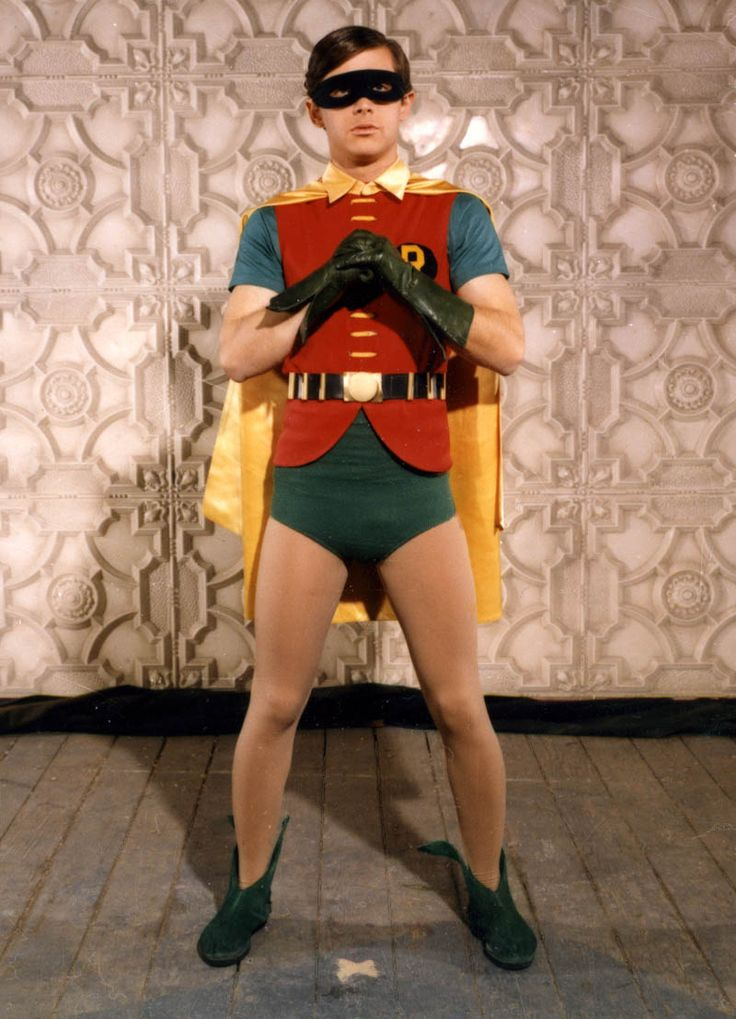Robin, of the caped crusaders | I've got to be able to find a way to make this work.