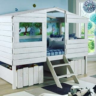 Best 25 Tree House Beds Ideas On Pinterest