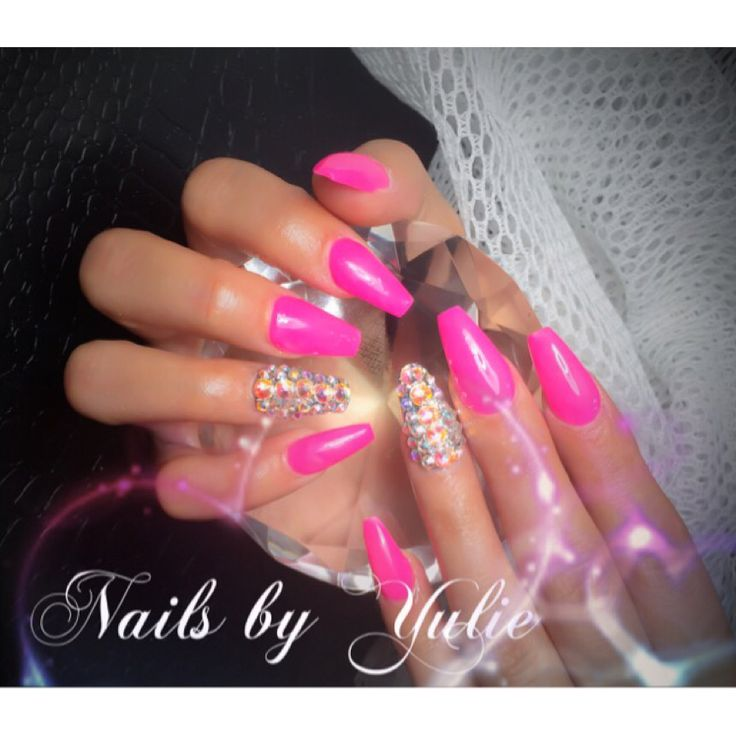 Old Fashioned Hot Pink Nails Designs Photo Inspiration - Nail Art ...