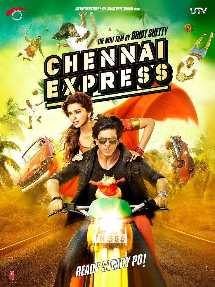 Chennai Express - The entertaining action-packed, hilarious story of a 40-year old bachelor, Rahul, who lands up on a totally unexpected journey that makes him realize the importance of love, life, relationships, and sacrifice. It's a train journey that not only takes Rahul accidentally to his destination, but also makes him realize the power of true love.