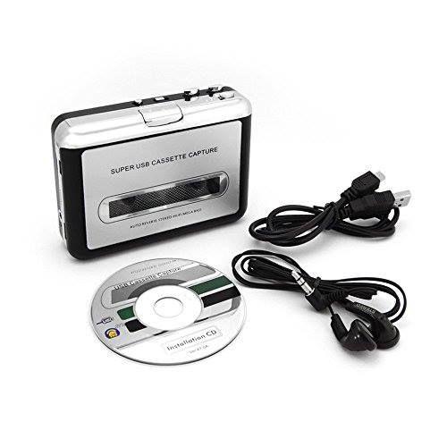 Reproductor y conversor de cassettes a mp3 http://www.milideaspararegalar.es/producto/reproductor-y-conversor-de-cassettes-a-mp3/