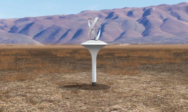 Une éolienne qui pourrait bien répondre aux problèmes environnementaux, et être favorable à la vie terrestre, humaine.