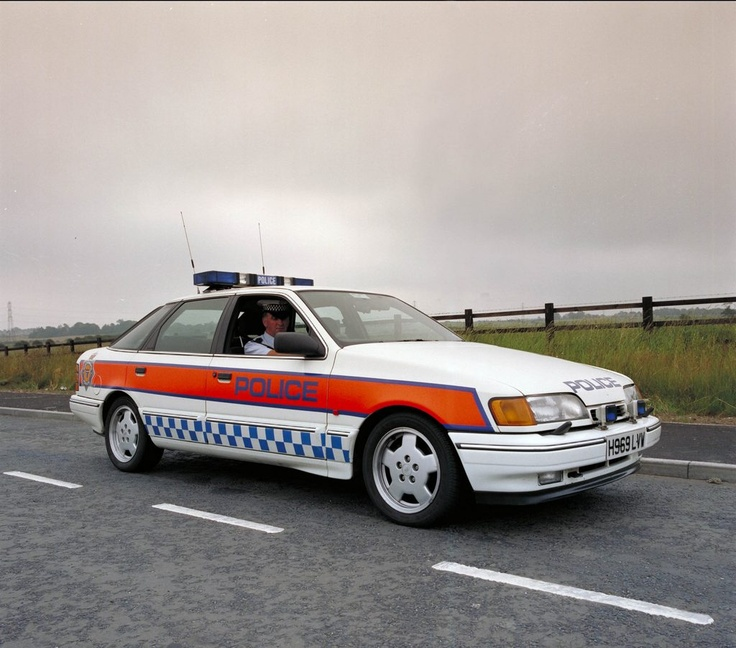1991 Ford Sierra Cosworth Police Car