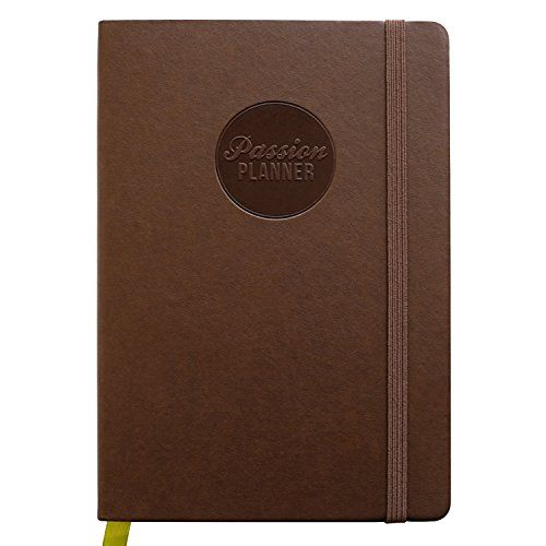 Passion Planner 2018 - Compact Size (A5) - Sunday Start (Vintage Brown) - The One Place for All Your Thoughts - Appointment Calendar, Sketchbook, Reflection Journal  Passion Planner 2018 - Compact Size (A5) - Sunday Start (Vintage Brown) - The One Place for All Your Thoughts - Appointment Calendar, Sketchbook, Re...