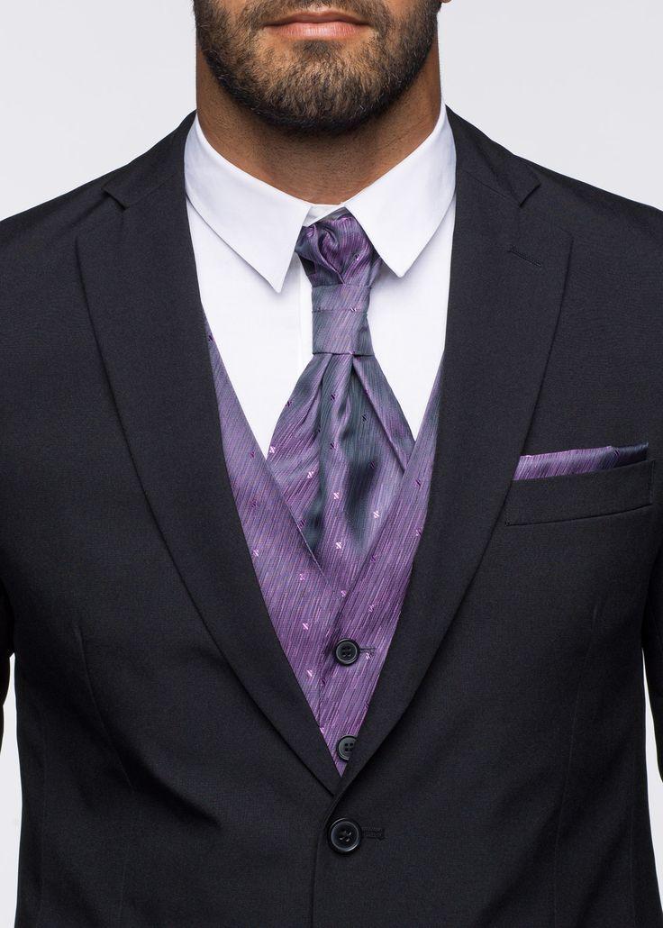 Anzug (5-tlg.) Slim Fit, N-Größe schwarz - bpc selection jetzt im Online Shop von bonprix.de ab ? 94,99 bestellen. Dieses fünfteilige Herren Anzugset ...