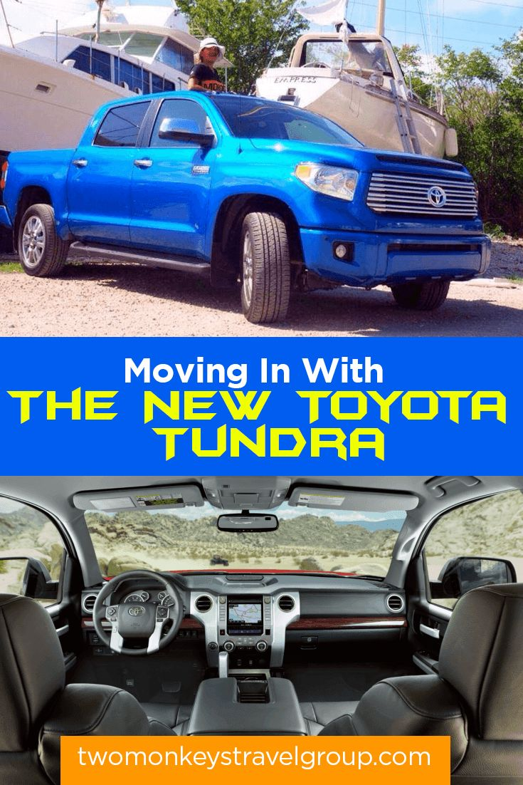 Moving in with the new toyota tundra
