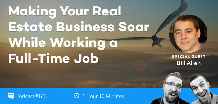 Having a full-time job can make investing in real estate tough. However, with the right systems, people, and plan, your business can thrive no matter how f
