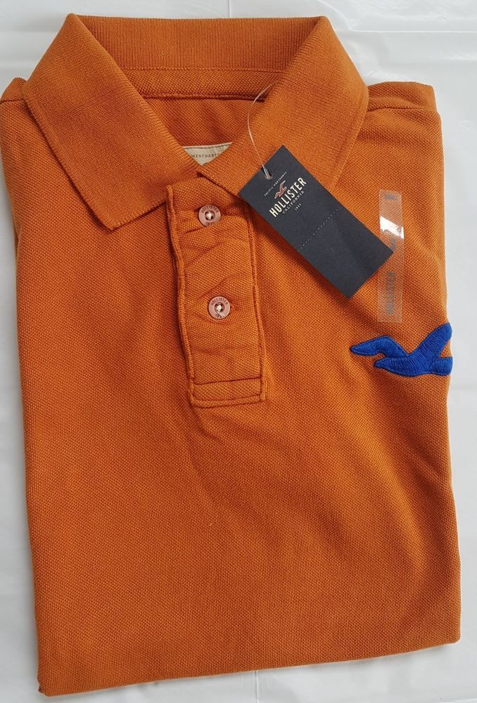 Hollister Mens' Authentic Polo Tshirts, Brand new with tags