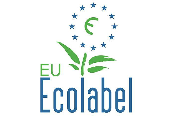 """EU - Ecolabel - Экологическая маркировка: """"Европейский цветок"""" 1-ого типа (ISO 14024). Для каждой группы продуктов у EU Ecolabel существуют свои критерии оценки, но всех их объединяет стремление уменьшить воздействие на природу на протяжении всего жизненного цикла продукта (добыча сырья, производство, упаковка, доставка, использование, утилизация)."""