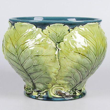 YTTERFODER, majolika, Rörstrand, tidigt 1900-tal. Keramik & Porslin - Europeiskt – Auctionet