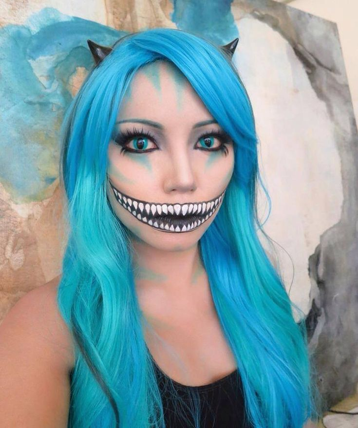 This one is inspired by Tim Burton's Cheshire Cat http://youtu.be/7VyznkGV7Hs                                                                                                                                                                                 More