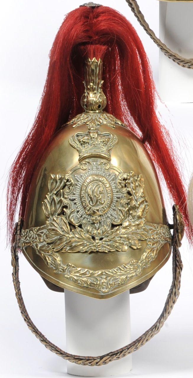 lbert Pattern Other Ranks Brass Helmet of the Kings Dragoon Guards