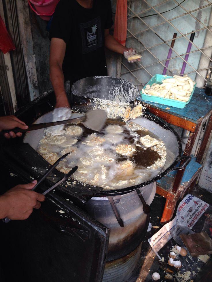 Pisang goreng Kalimantan #jakarta #food