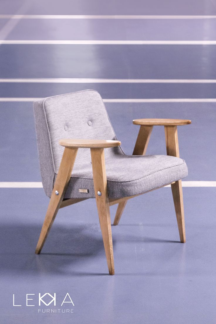 Armchair designed by J. Chierowski model: 366 age: 1962 redesigned by LEKKA…
