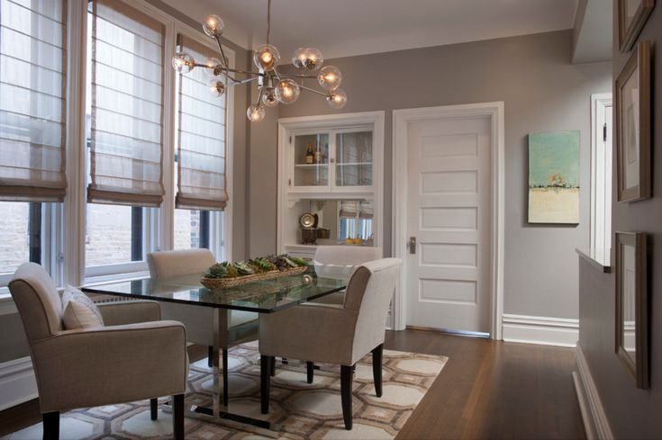 Cascade Roman Shades In Linen Blend Pair Beautifully With