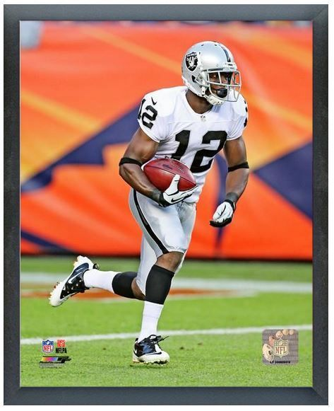 "Jacoby Ford 2013 Oakland Raiders - 11"" x 14"" Photo in a Glassless Frame"