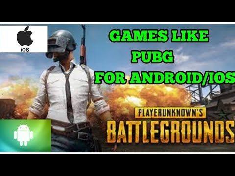 Top 5 games like PUBG for Android/IOS