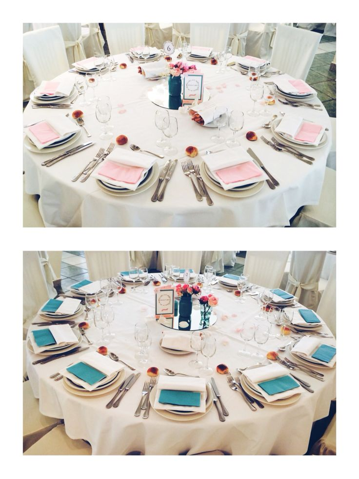 Lovely tale and pink centerpiece.. A butterfly wedding .. Made in Italy by Danielle Design