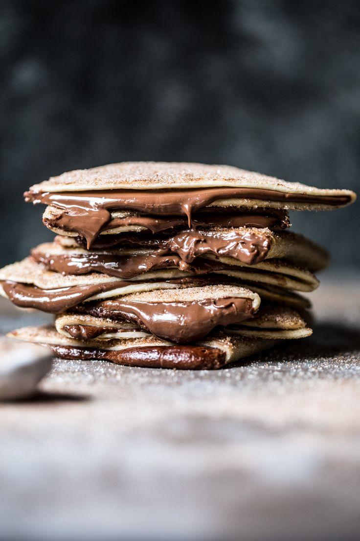 Cinnamon Sugar Nutella Quesadilla   halfbakedharvest.com @hbharvest