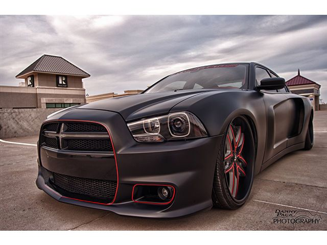 The Reaper - custom wide body 2011 R/T Charger. Photo: Danny Pack Photography