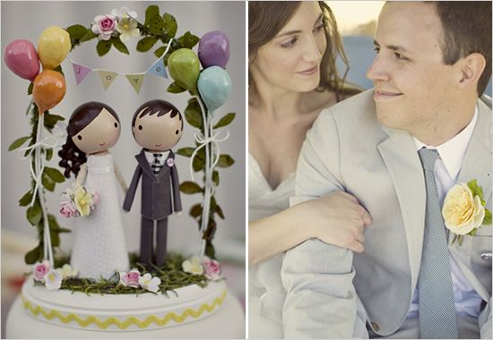 That cake topper is AMAZING!
