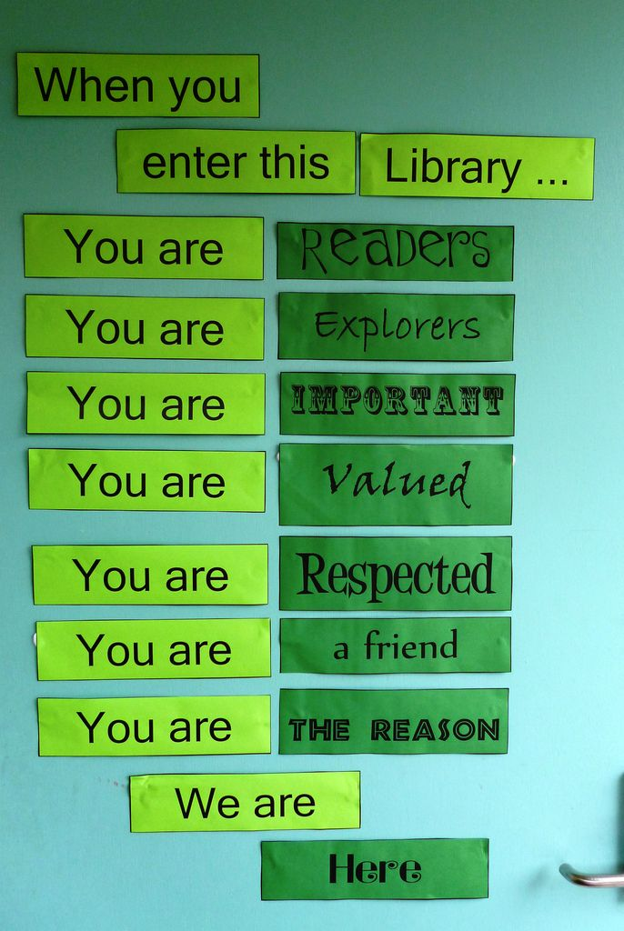 """librariesbuildcommunity: """" text-block: """" Superb front door display to the Eatons Hill State School #Library in March 2013. It captures the essence of librarianship. Bravi! P1000016 (by Eatons Hill SS..."""