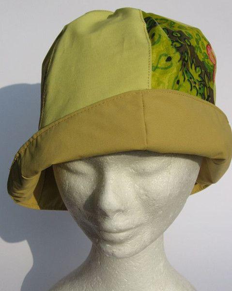 Hüte - sonniger Regenhut Cloche senfgelb - ein Designerstück von Janecolori bei DaWanda