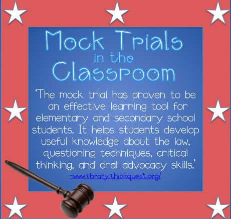 17 best images about mock trials in the classroom on pinterest cases in the classroom and. Black Bedroom Furniture Sets. Home Design Ideas